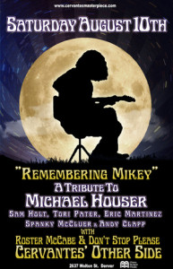 poster remembering mikey 2